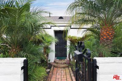 Marina Del Rey Single Family Home For Sale: 3302 Pacific Avenue