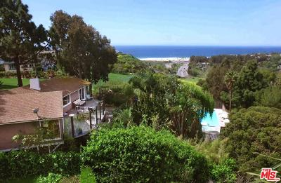 Malibu Single Family Home For Sale: 29359 Heathercliff Road
