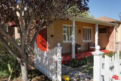 Studio City Single Family Home For Sale: 4107 Goodland Avenue