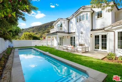 Los Angeles Single Family Home For Sale: 3348 Mandeville Canyon Road