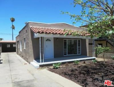 Los Angeles Single Family Home For Sale: 1427 West 97th Street