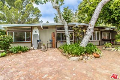 Malibu Single Family Home For Sale: 6185 Paseo Canyon Drive