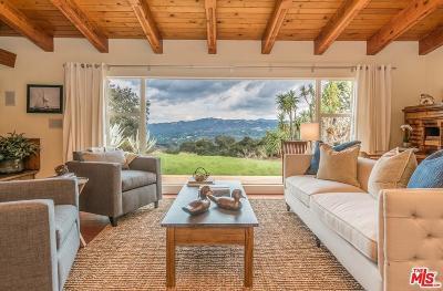 Topanga Single Family Home For Sale: 22575 Monte Vista Drive