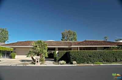 Rancho Mirage Single Family Home For Sale: 26 Lafayette Drive