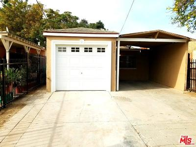 Los Angeles CA Single Family Home For Sale: $319,900