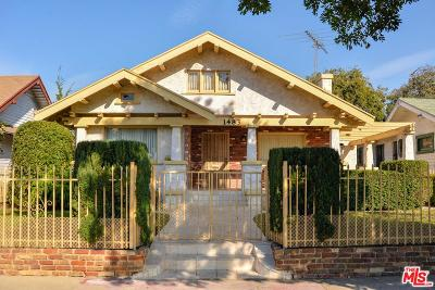 Los Angeles Southwest (C34) Single Family Home For Sale: 1483 West 46th Street