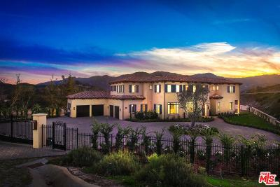 Calabasas Single Family Home For Sale: 26769 Mulholland Highway