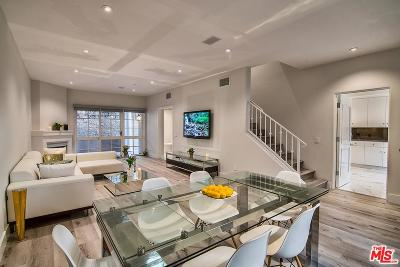 Los Angeles County Condo/Townhouse For Sale: 851 North San Vicente #116