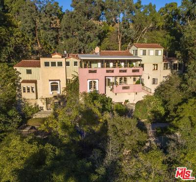 Sunset Strip - Hollywood Hills West (C03) Single Family Home For Sale: 2393 Castilian Drive