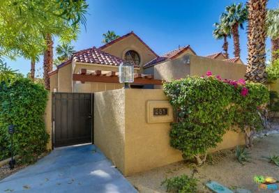 Palm Springs Condo/Townhouse For Sale: 251 Canyon Circle