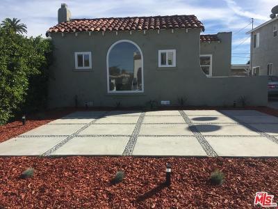 Los Angeles Single Family Home For Sale: 2934 South Rimpau
