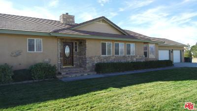 Rosamond Single Family Home For Sale: 7914 Dogwood Avenue