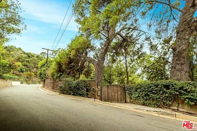 Sunset Strip - Hollywood Hills West (C03) Single Family Home For Sale: 3791 Multiview Drive