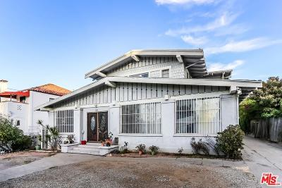 Los Angeles County Single Family Home For Sale: 1240 South Manhattan Place