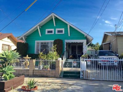Los Angeles Single Family Home For Sale: 840 North Rampart