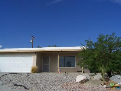 Desert Hot Springs Single Family Home For Sale: 9751 Santa Cruz Road