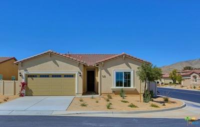 Desert Hot Springs Single Family Home For Sale: 64120 Van Horn Mountain Street