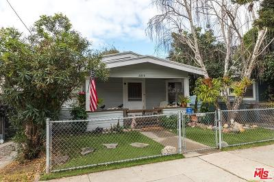 Santa Monica Single Family Home For Sale: 2210 6th Street