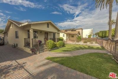 Los Angeles Single Family Home For Sale: 2711 Alsace Avenue