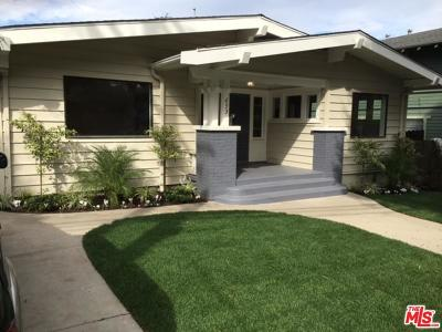 Santa Monica Single Family Home For Sale: 653 Ashland Avenue
