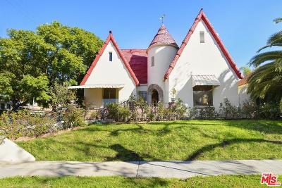 Los Angeles Single Family Home For Sale: 546 North Citrus Avenue