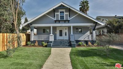 Los Angeles Single Family Home For Sale: 4012 South Budlong Avenue