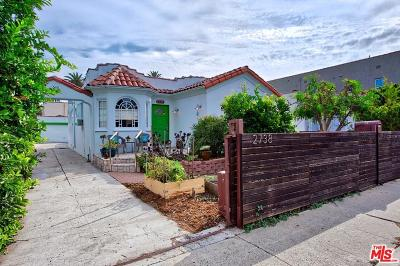 Los Angeles Single Family Home For Sale: 2738 South Redondo