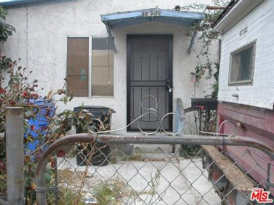 Los Angeles Single Family Home For Sale: 1622 East 40th Place