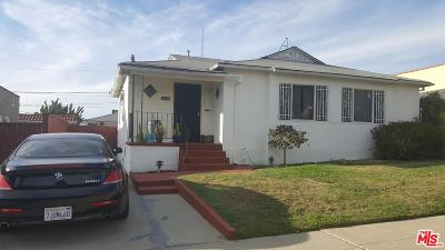 Los Angeles Single Family Home For Sale: 2135 South Palm Grove Avenue