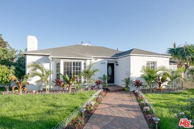 Single Family Home For Sale: 1800 South Hayworth Avenue