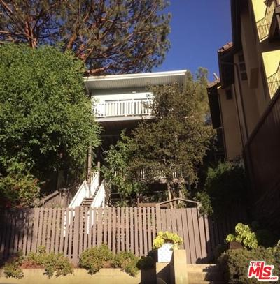 Sunset Strip - Hollywood Hills West (C03) Single Family Home For Sale: 7205 Sycamore Trails