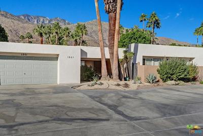 Palm Springs Single Family Home For Sale: 1861 South Navajo Drive