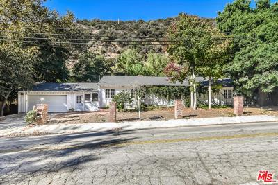 Los Angeles County Single Family Home For Sale: 3443 Mandeville Canyon Road