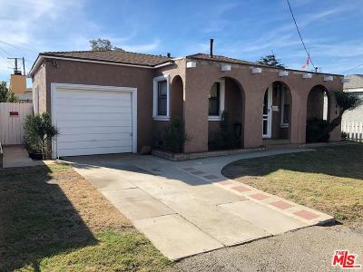 Torrance Single Family Home For Sale: 2368 Dominguez Street