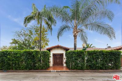Los Angeles County Single Family Home For Sale: 6640 Whitley Terrace