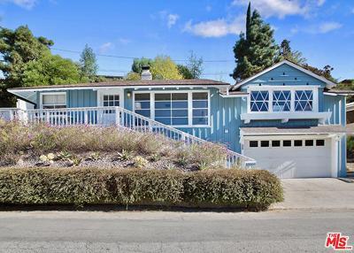 Sherman Oaks Single Family Home For Sale: 13566 Contour Drive