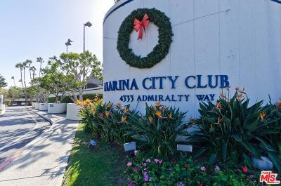 Marina Del Rey Condo/Townhouse For Sale: 4335 Marina City #346