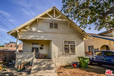 Los Angeles Single Family Home For Sale: 1612 South Berendo Street