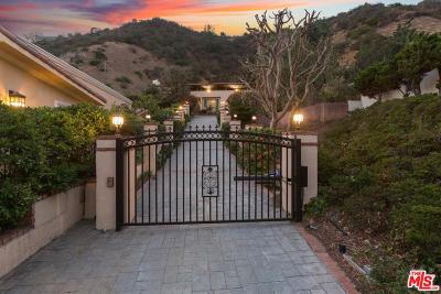 Beverly Hills Single Family Home For Sale: 1739 San Ysidro Drive