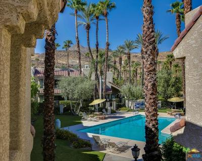 Palm Springs Condo/Townhouse For Sale: 2700 Golf Club Drive #105