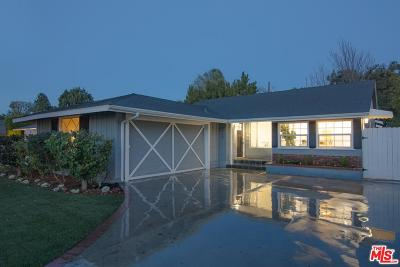Sherman Oaks Single Family Home For Sale: 4920 Wortser Avenue