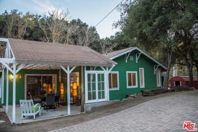 Topanga Single Family Home For Sale: 20245 Paradise Lane