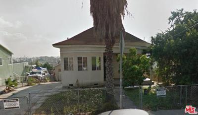 Los Angeles Single Family Home For Sale: 3316 Folsom Street
