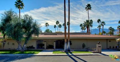 Palm Springs Single Family Home For Sale: 1501 East Lobo Way