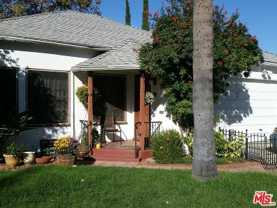 Los Angeles CA Single Family Home For Sale: $635,000