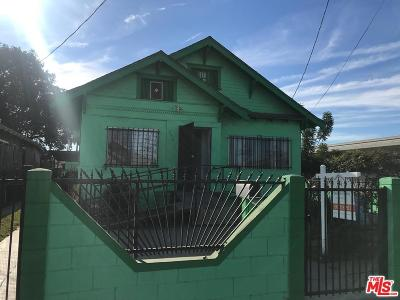 Los Angeles Single Family Home For Sale: 342 West 53rd Street