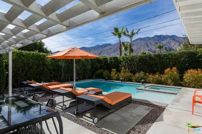 Palm Springs Single Family Home For Sale: 727 North Paseo De Anza