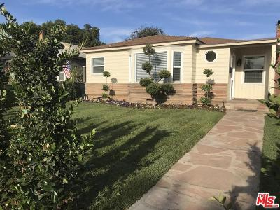 Single Family Home For Sale: 1728 South Centinela Avenue
