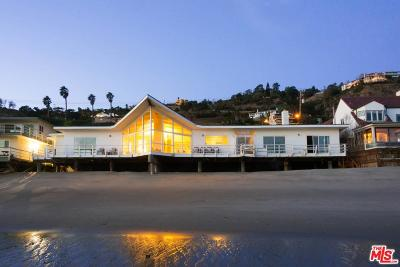 Single Family Home For Sale: 21650 Pacific Coast Highway