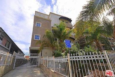 Los Angeles Condo/Townhouse For Sale: 1030 South Norton Avenue #7